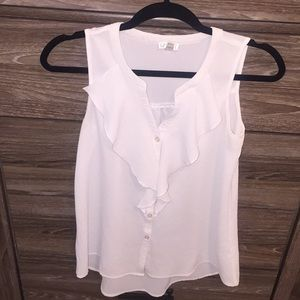 White tank blouse